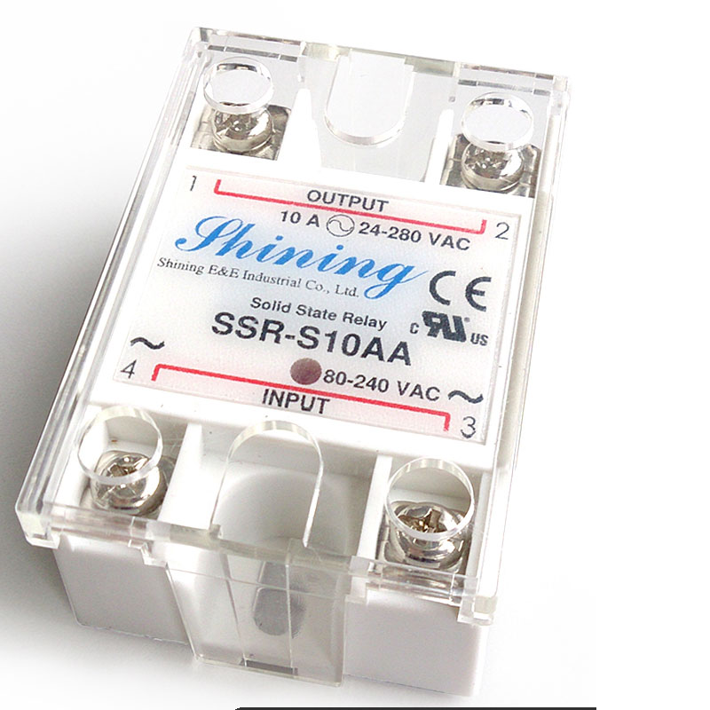 SSR-S AC to AC Single Phase Solid State Relays
