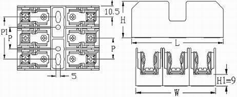 FB-M033PQ series fuse holders