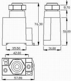 E-16N series fuse holders